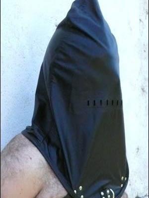 Prisoner Hood With Harness