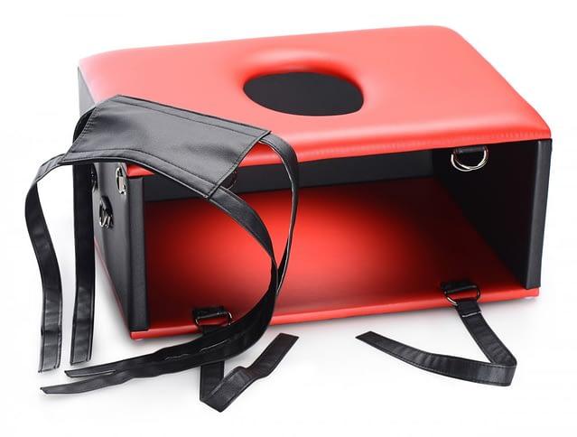 Red Hot Queening Chair Apart