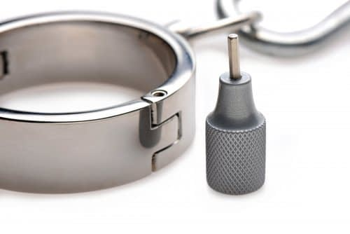 Stainless Steel Yoke with Collar and Cuffs With Key