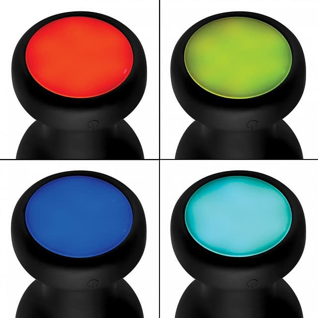 LED Light Show Anal Plug Multi Colors