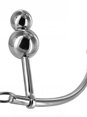 Duo Sphere Plug With Bondage Hook