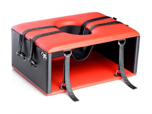Red Hot Queening Chair