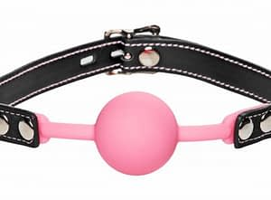 Glow In The Dark Silicone Ball Gag