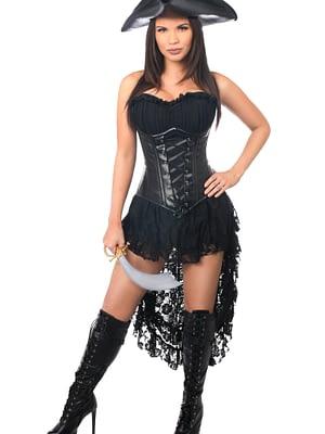 Pirate Captain Premium Corset Costume