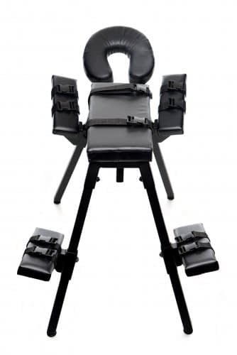 The Obedience Bench With Restraints Back View