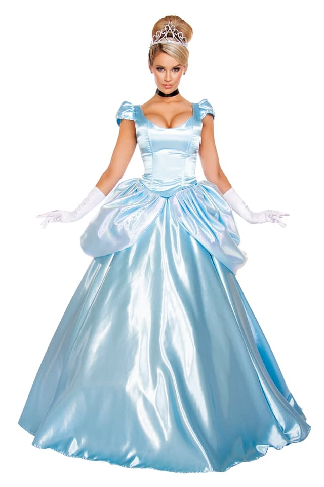 Stroke of Midnight Princess Gown