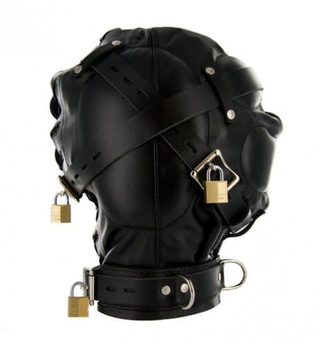Complete Sensory Deprivation Hood Other Side View