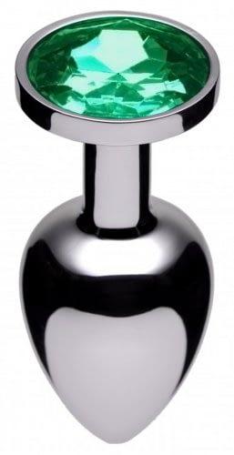 Jeweled Butt Plug Emerald