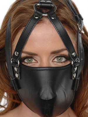 Muzzled Face Harness