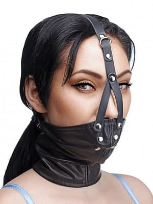 Corset Neck Harness with Stuffer Gag
