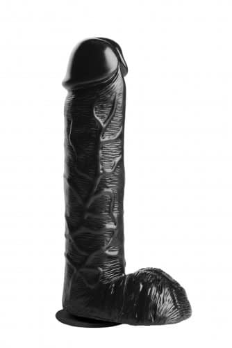 Hollow Strap-On with 10 Inch Dildo Solo