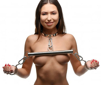 Stainless Steel Yoke with Collar and Cuffs Demo