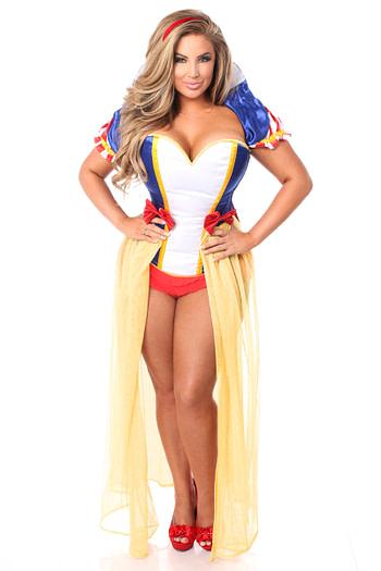 Snow Princess Corset Costume Queen