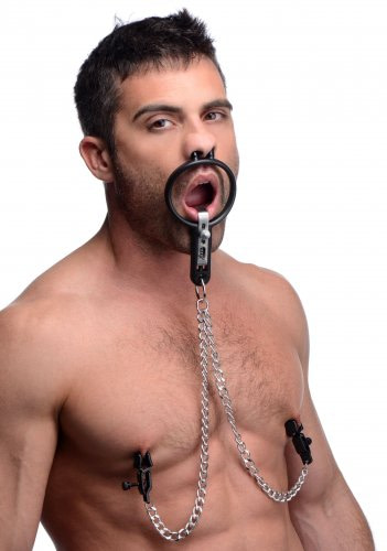 Degraded Mouth Spreader with Nipple Clamps Demo