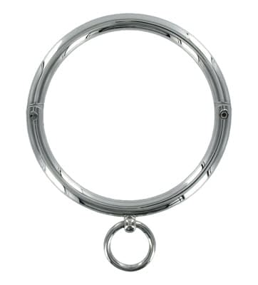Rolled Steel Slave Collar Top View