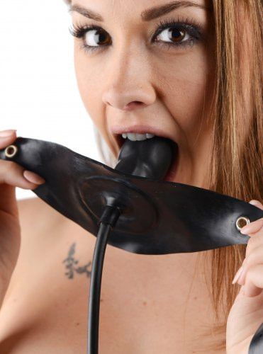 Rubber Inflatable Gag Demo