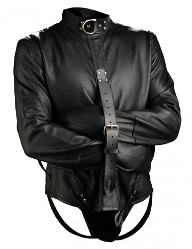 Premium Leather Straightjacket