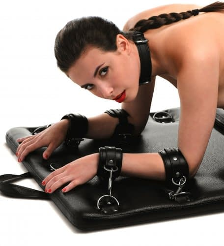 Bondage Board With Model Close up