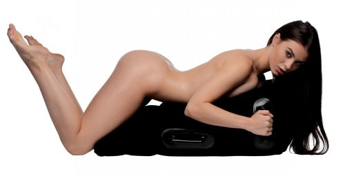 Mount Me Inflatable Position Pillow Demo