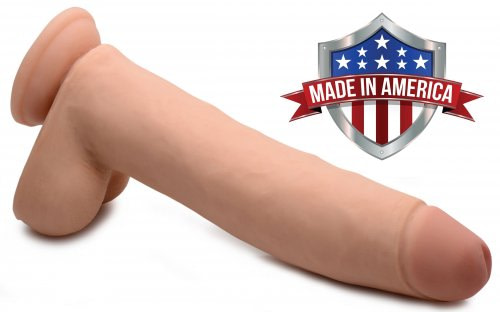 Realistic 11 Inch Dildo Made In America