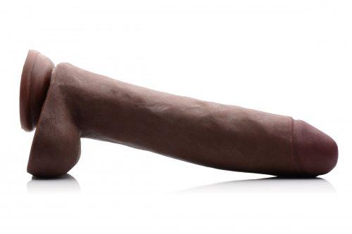 BBC Realistic 11 Inch Dildo Side View
