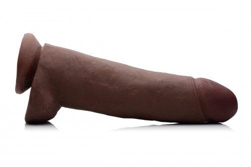 BBC Realistic 12 Inch Dildo Side View