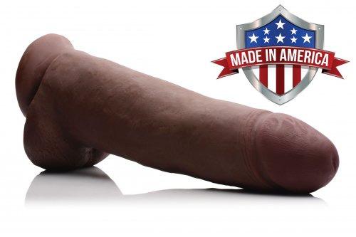 BBC Realistic 12 Inch Dildo Made In America