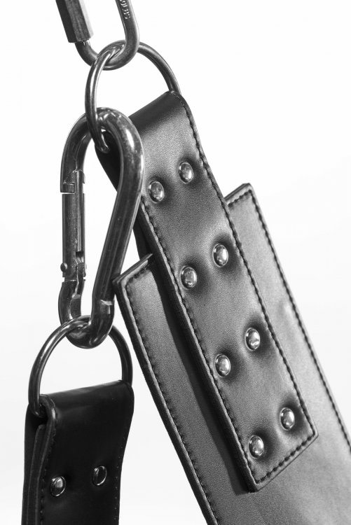 Leather Suspension Sling Close Up Latch