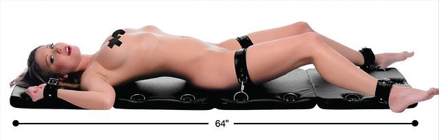 Bondage Board XL Model On Her Back