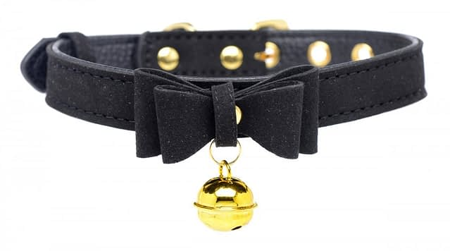 Kitty's Black Bell Collar