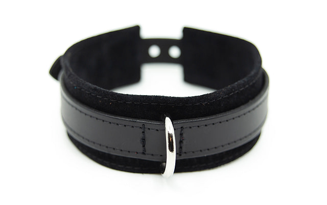 Large & Not Incharge Submissive Training Collar Black