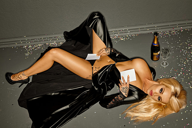 Dangerously Risque Gown Party