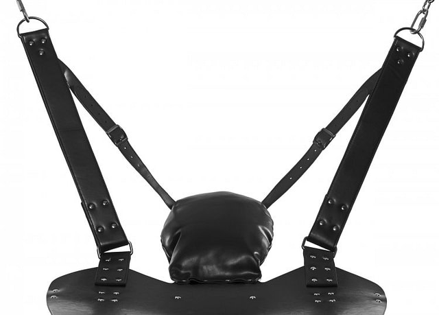 Leather Suspension Sling Head Rest
