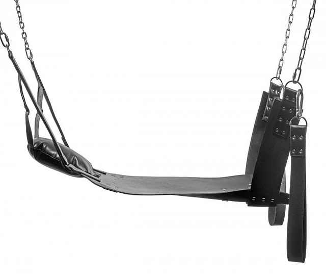 Leather Suspension Sling Close Up
