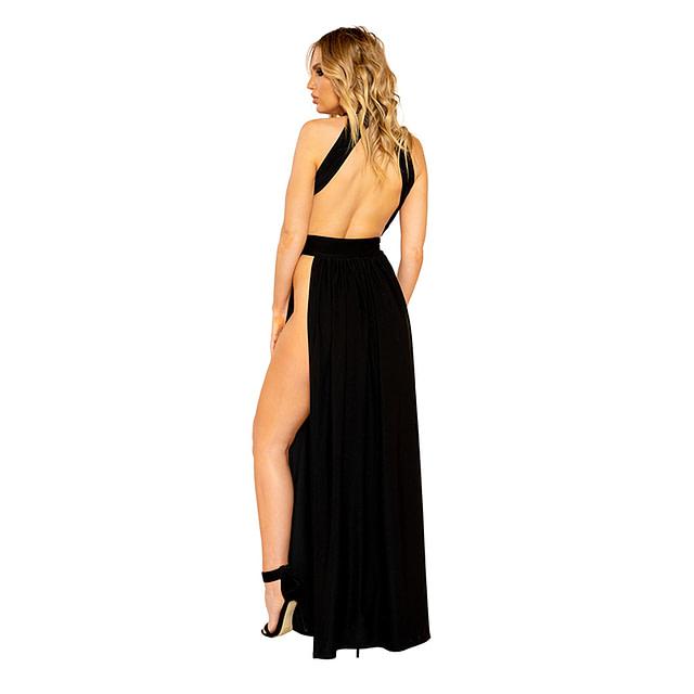 Open Desires Maxi Dress Back