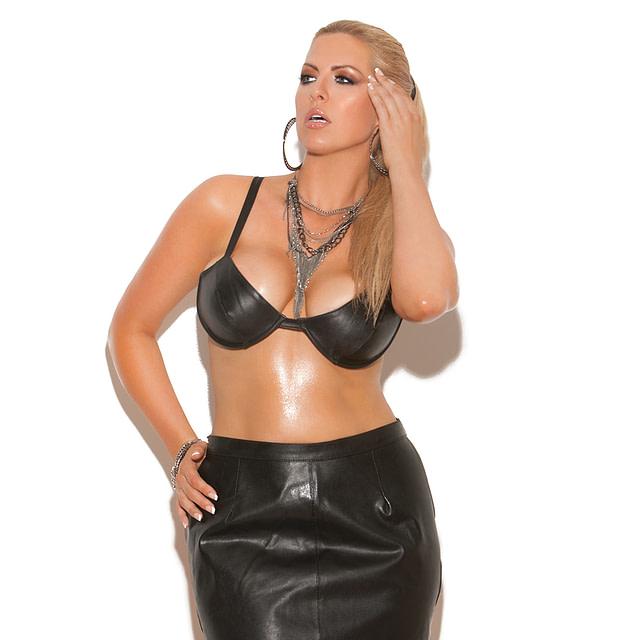 Leather Spanking Skirt X