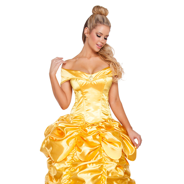 Beautiful Belle At The Ball