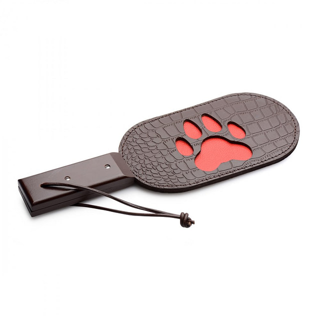 Bad Puppy Leather Paddle