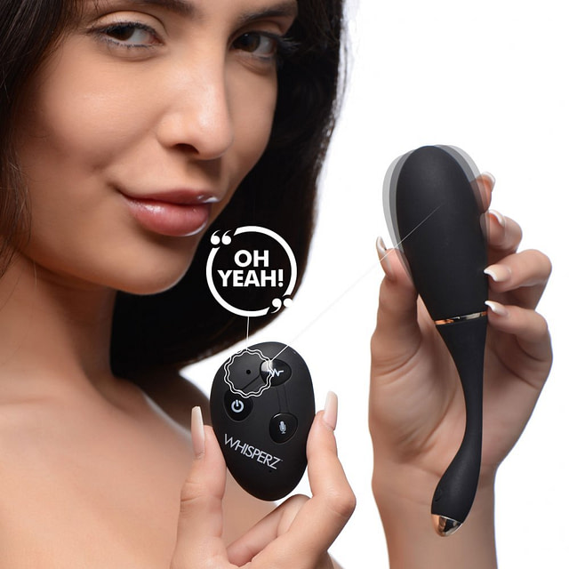 Voice Activated Vibrating Egg With Model