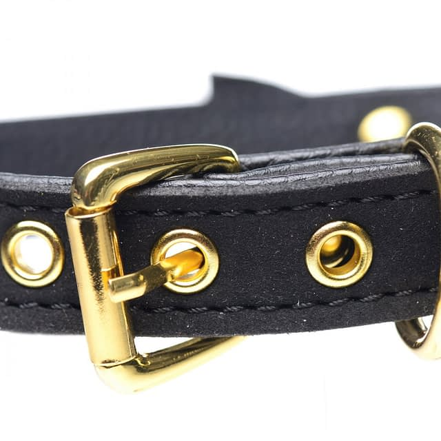 Kitty's Black Bell Collar Buckle