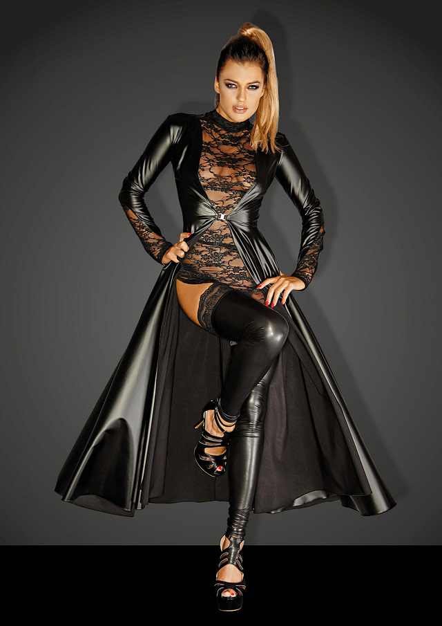 Dangerously Risque Gown