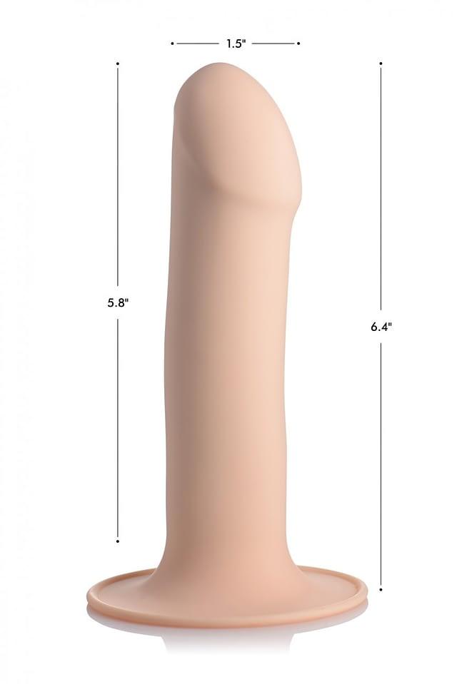 Ultra Flexible Dildo Flesh Dimensions
