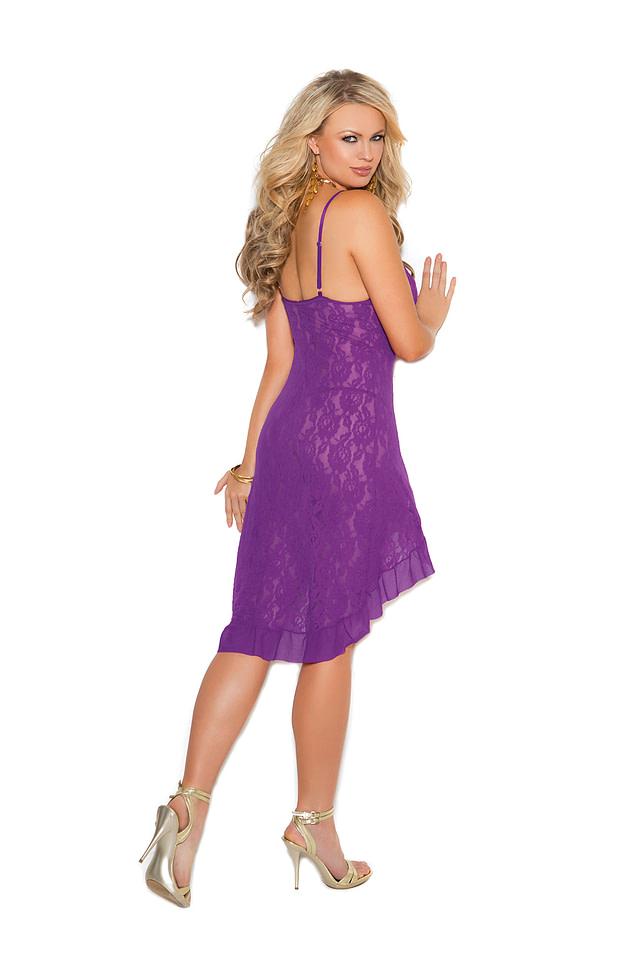 Lace Passions Dress Back