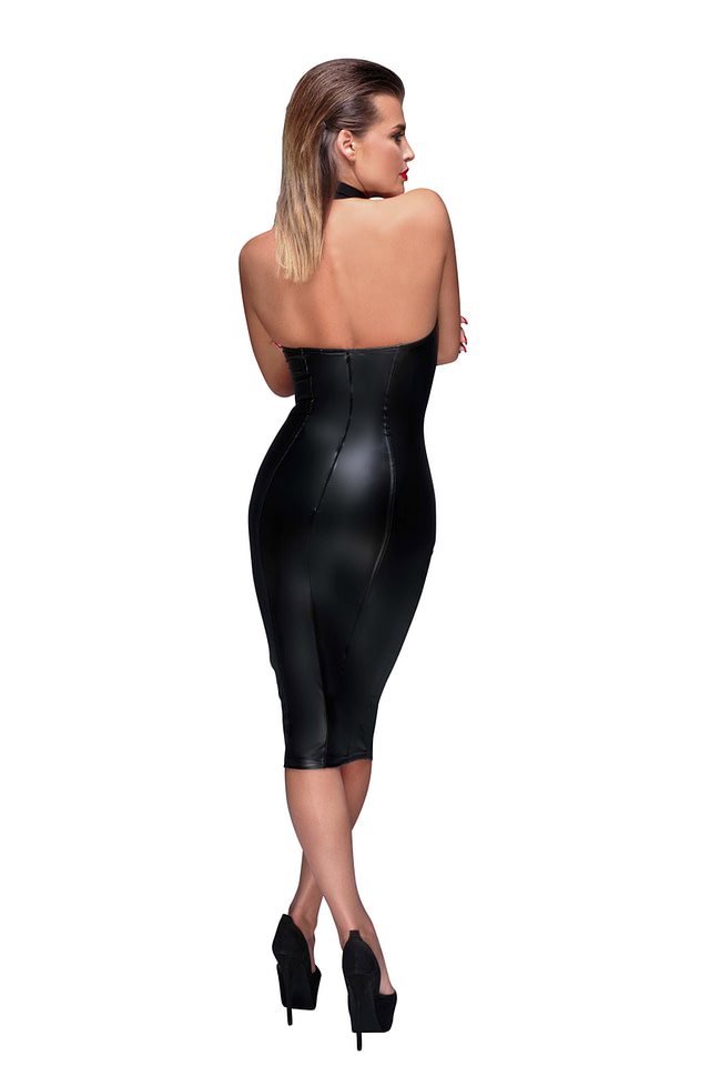 Empowering Pencil Dress Back