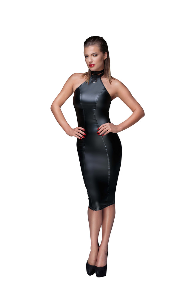Empowering Pencil Dress Front