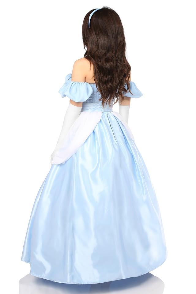 Fairytale Princess Corset Costume Back