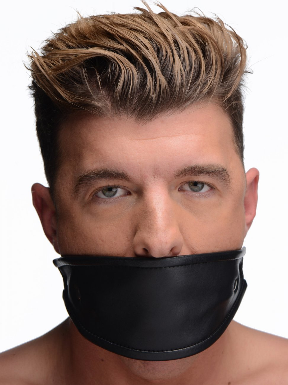 Leather Covered Ball Gag - The BDSM Toy Shop