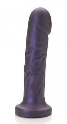 Goliath Vibrating Dildo Purple