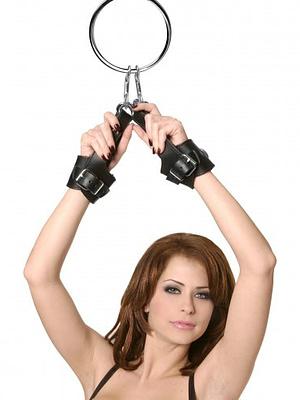 Suspension Cuff Kit with Bondage Ring Demo