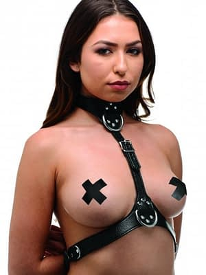 Female Chest Harness Side View